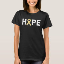 Hope Sarcoma Bone Cancer Awareness Zodiac Ribbon S T-Shirt