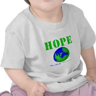 Hope Save Earth Go Green T-shirt