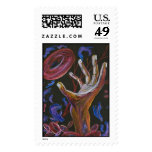Hope - Sickle Cell Fine Art Print Postage Stamps