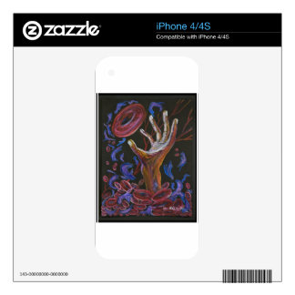 Hope - Sickle Cell Fine Art Skin For The iPhone 4