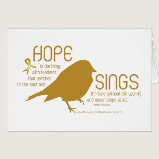 Hope Sings Gold Card