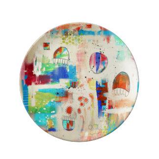 """Hope Soaring 8.5"""" Porcelain Plate"""