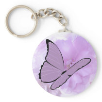 Hope Springs Eternal Awareness Butterfly Keychain