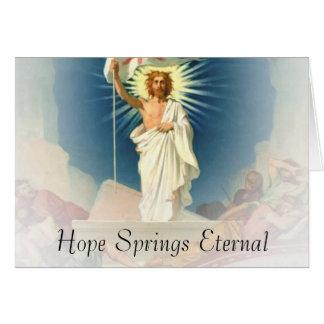 Hope Springs Eternal Card