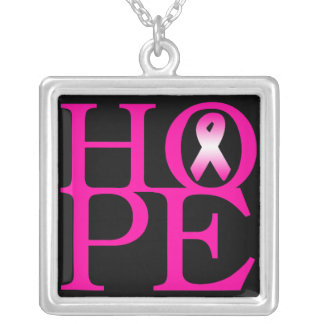 Hope Square Pendant Necklace