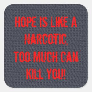Hope! Square Sticker