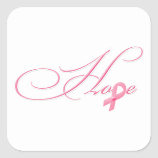 Hope Square Sticker