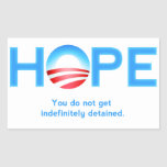 HOPE? Sticker