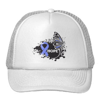 Hope Stomach Cancer Butterfly Trucker Hat