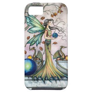 Hope Stones Autumn Fairy Dragon Fantasy Art iPhone 5 Cases