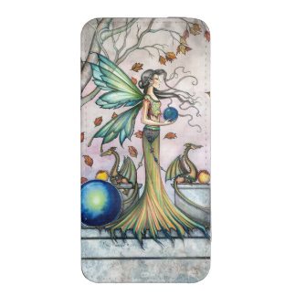 Hope Stones Fairy and Dragons Fantasy Art iPhone 5 Pouch