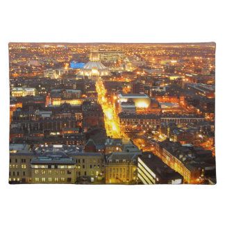 hope Street, Liverpool UK Cloth Placemat