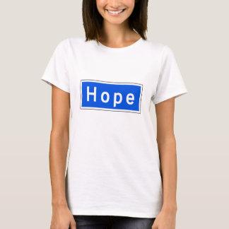 Hope Street, Los Angeles, CA Street Sign T-Shirt