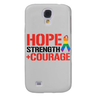 Hope, Strength, & Courage Galaxy S4 Cases