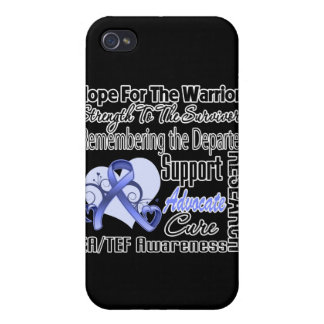 Hope Strength Remember Esophageal Atresia Cover For iPhone 4