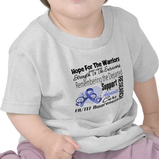 Hope Strength Remember Esophageal Atresia T-shirts