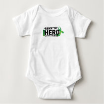 Hope Strong Lymphoma Awareness Support Gift Baby Bodysuit