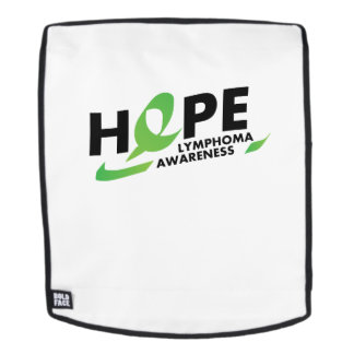 Hope Strong Lymphoma Awareness Support Gift Backpack