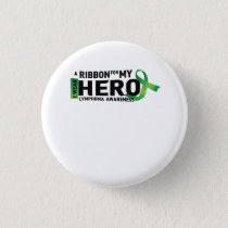 Hope Strong Lymphoma Awareness Support Gift Button