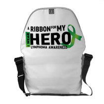Hope Strong Lymphoma Awareness Support Gift Courier Bag