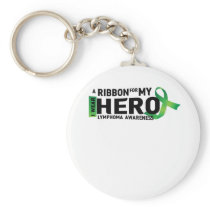 Hope Strong Lymphoma Awareness Support Gift Keychain