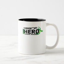 Hope Strong Lymphoma Awareness Support Gift Two-Tone Coffee Mug