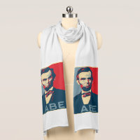 Hope Style Lincoln Portrait Scarf