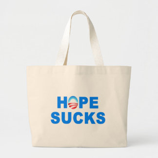 Hope Sucks Obama Canvas Bag
