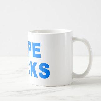 Hope Sucks Obama Coffee Mug