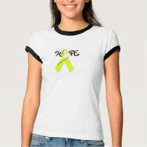 Hope Suicide Prevention Awareness Ribbon Shirt