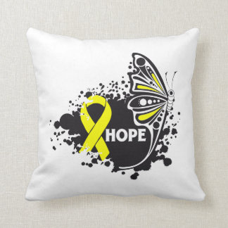Hope Suicide Prevention Butterfly Pillow