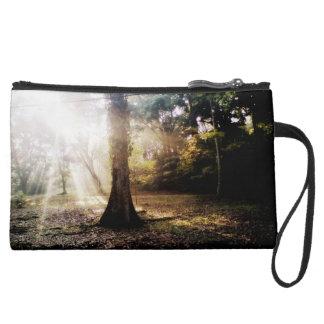 hope. sunlight suede wristlet wallet