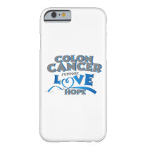 Hope Support Colon Cancer Awareness Gift Barely There iPhone 6 Case