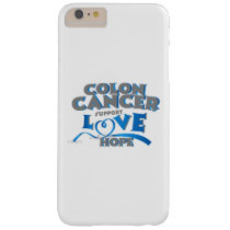 Hope Support Colon Cancer Awareness Gift Barely There iPhone 6 Plus Case