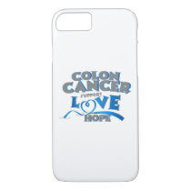 Hope Support Colon Cancer Awareness Gift iPhone 8/7 Case
