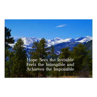 Hope/Support poster