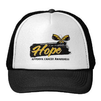 Hope Tattoo Butterfly Appendix Cancer Trucker Hat