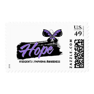 Hope Tattoo Butterfly Hodgkins Disease Postage Stamp