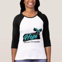 Hope Tattoo Butterfly Interstitial Cystitis T-Shirt