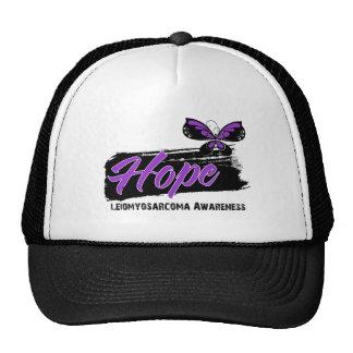 Hope Tattoo Butterfly Leiomyosarcoma Hats