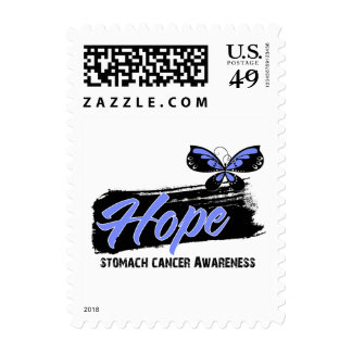 Hope Tattoo Butterfly Stomach Cancer Postage Stamps