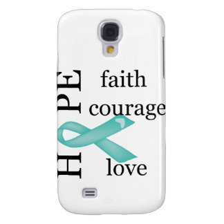 Hope (Teal) Galaxy S4 Case
