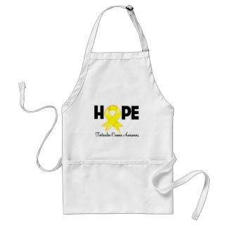 Hope Testicular Cancer Awareness Adult Apron
