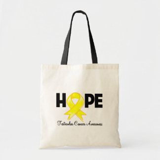 Hope Testicular Cancer Awareness Budget Tote Bag