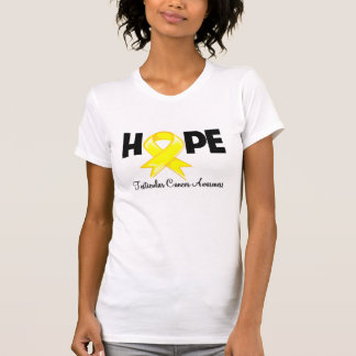Hope Testicular Cancer Awareness T-shirt