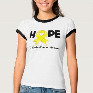 Hope Testicular Cancer Awareness T Shirts