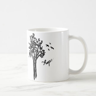 Hope - the mug. classic white coffee mug