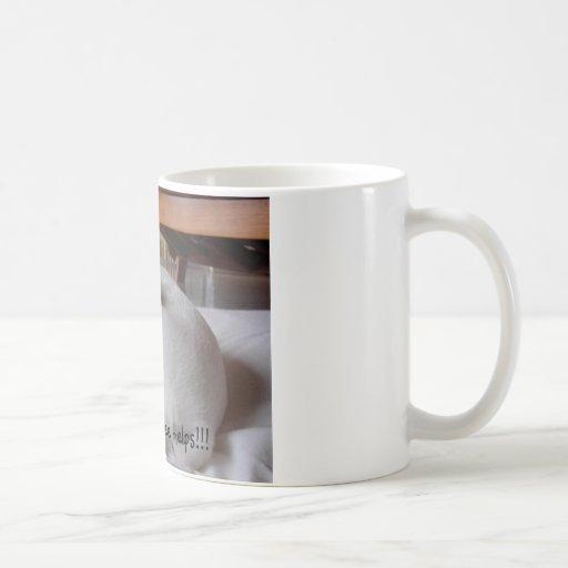 Hope this coffee helps!!! classic white coffee mug