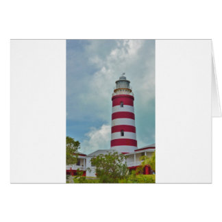 Hope Town Lighthouse Card