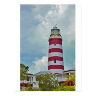 Hope Town Lighthouse Postcard